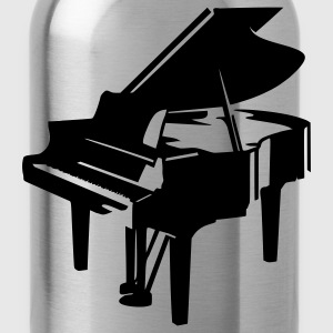 Light blue Piano T-Shirts - Water Bottle
