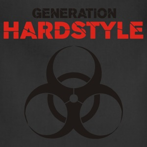 Black Generation Hardstyle T-Shirts - Adjustable Apron