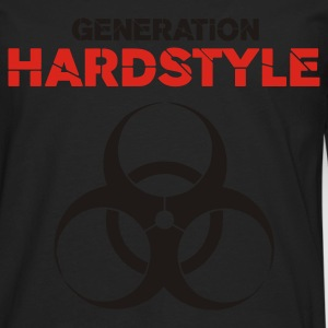 Black Generation Hardstyle T-Shirts - Men's Premium Long Sleeve T-Shirt
