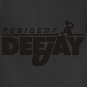 Black Resident DeeJay Women's T-Shirts - Adjustable Apron