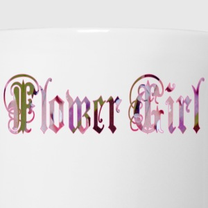 White FLOWER GIRL Kids' Shirts - Coffee/Tea Mug