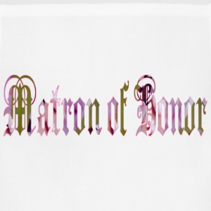 White MATRON of HONOR Women's T-Shirts - Adjustable Apron