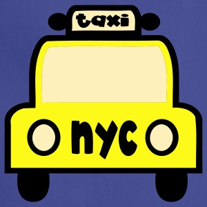 Navy Taxi Cab NYC Retro Sweatshirts - Adjustable Apron