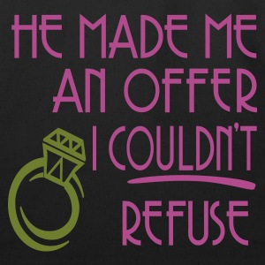 Black He Made Me An Offer I Couldn't Refuse Women's T-Shirts - Eco-Friendly Cotton Tote