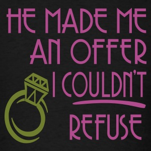 Light pink He Made Me An Offer I Couldn't Refuse Long Sleeve Shirts - Men's T-Shirt