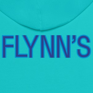 Turquoise Flynn's T-Shirts - Contrast Hoodie