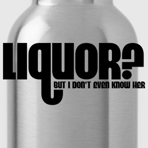Liquor T-Shirts - Water Bottle