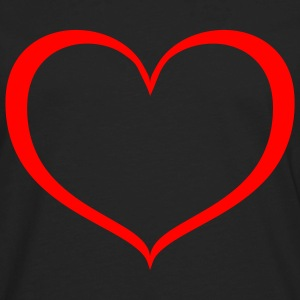 Heart - cœur - Men's Premium Long Sleeve T-Shirt