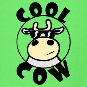 Mint green Cool Cow Baby Body - Men's T-Shirt