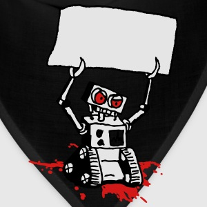 Angry Robot Sign - writable - Bandana