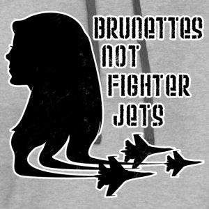 Brunettes Not Fighter Jets Conchords 2 - Contrast Hoodie