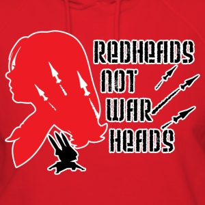 Redheads not Warheads Conchords - Women's Hoodie