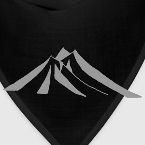 Light blue mountains - hill - nature - mount T-Shirts - Bandana