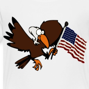 White America bold eagle Kids' Shirts - Toddler Premium T-Shirt