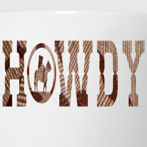White HOWDY Kids' Shirts - Coffee/Tea Mug