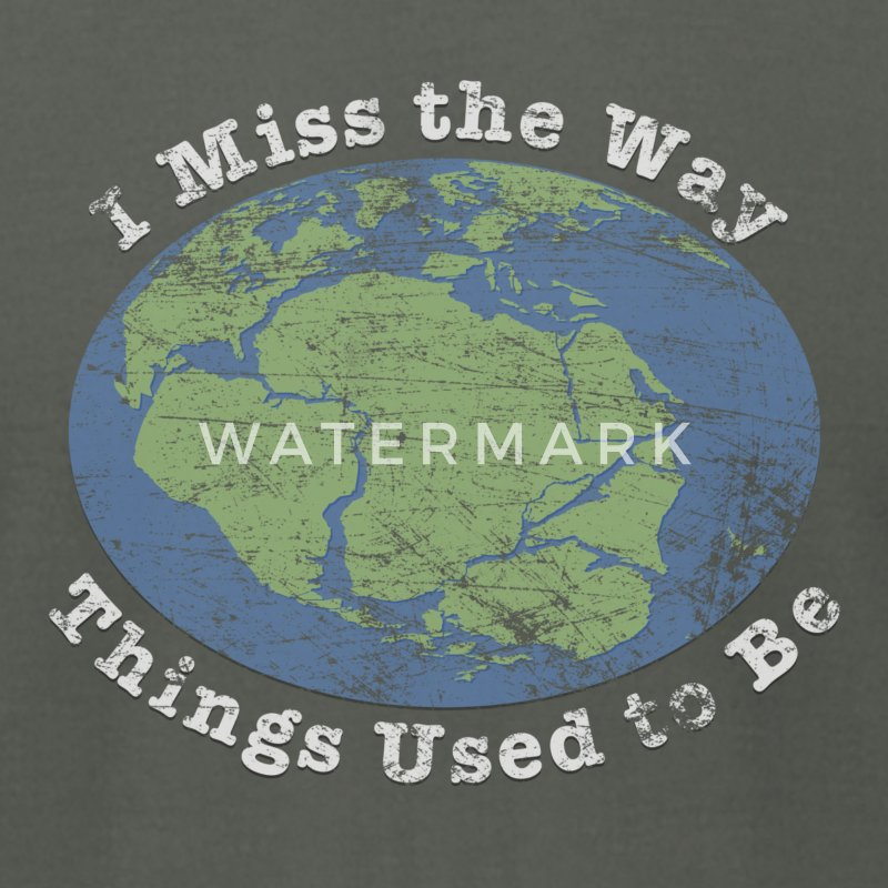 I Miss the Way Things Used to Be - Men's T-Shirt by American Apparel