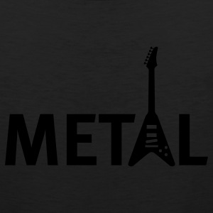 Black metal T-Shirts - Men's Premium Tank