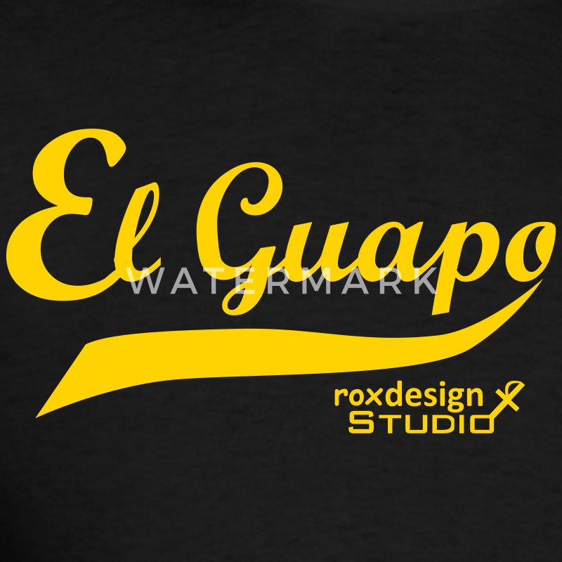 Black El Guapo T-Shirts - Men's T-Shirt
