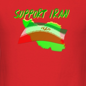 Support Iran - Men's T-Shirt