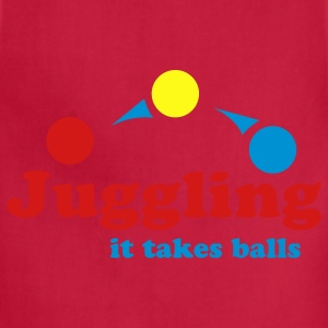 Juggling Takes Balls - Adjustable Apron