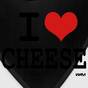 Deep heather i love cheese by wam Women's T-Shirts - Bandana