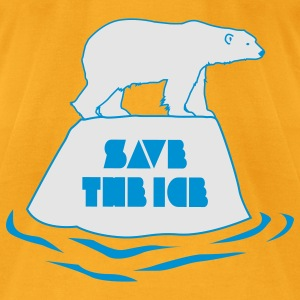 save the ice bag - Men's T-Shirt by American Apparel