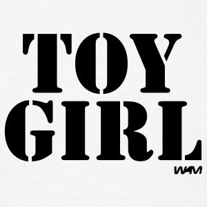White toy girl by wam Hooded Sweatshirts - Men's T-Shirt