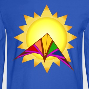 Summertime Kite - Men's Long Sleeve T-Shirt