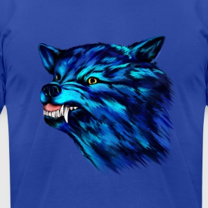 SNARL! - Men's T-Shirt by American Apparel
