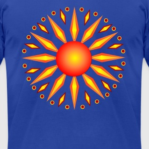 Summer Solstice - Men's T-Shirt by American Apparel
