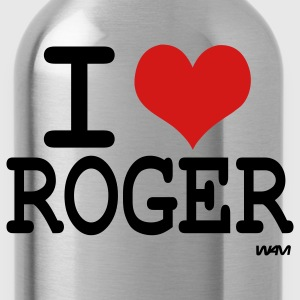 Ash  I love roger Hoodies - Water Bottle