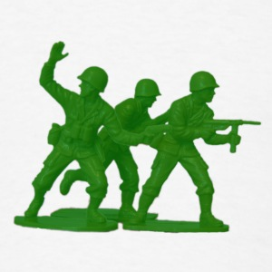 Army Men Detail Green - Men's T-Shirt