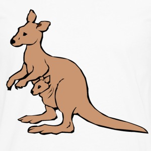 KANGAROO - Men's Premium Long Sleeve T-Shirt