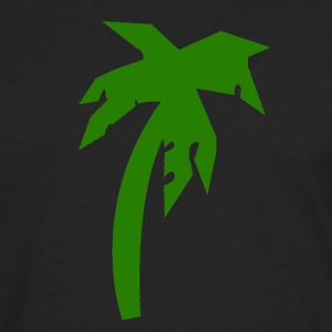 Black palm tree Kids' Shirts - Men's Premium Long Sleeve T-Shirt