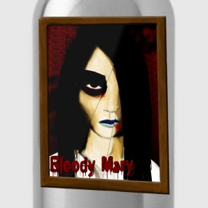 Black Bloody Mary Hoodies - Water Bottle