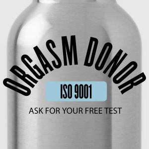 Navy orgasm donor by wam T-Shirts - Water Bottle