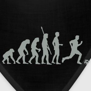 Black evolution_fussball_weiss T-Shirts - Bandana