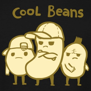 Khaki Cool Beans T-Shirts - Men's Tall T-Shirt