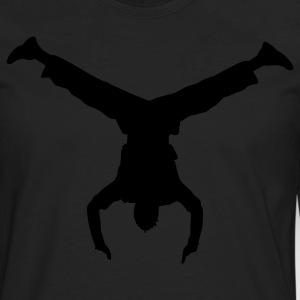 Hand stand - Men's Premium Long Sleeve T-Shirt