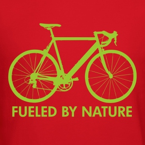 Creme Bike Fueled by Nature Women's T-Shirts - Crewneck Sweatshirt