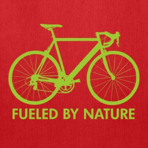 Creme Bike Fueled by Nature Women's T-Shirts - Tote Bag