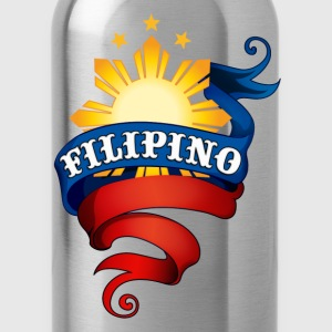 Heather grey Filipino Logo Sweatshirts - Water Bottle
