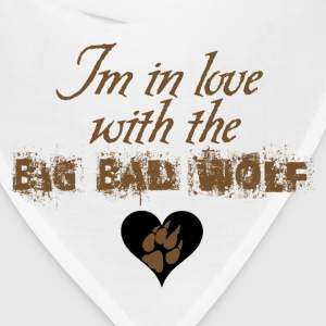 In love with the Big Bad Wolf Jacob Black New moon tee - Bandana
