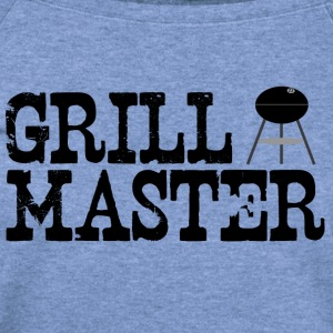 Spider red grill_master (charcoal grilling) T-Shirts - Women's Wideneck Sweatshirt