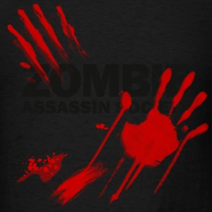 Light pink Zombie Assassin Society  Long Sleeve Shirts - Men's T-Shirt