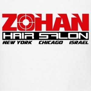 White Zohan Hair Salon  Long Sleeve Shirts - Men's T-Shirt
