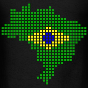Black Brazil Bags  - Men's T-Shirt