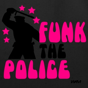 Black/white funk the police by wam T-Shirts - Eco-Friendly Cotton Tote