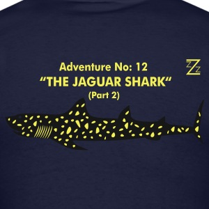 Navy jaguar shark Hoodies - Men's T-Shirt