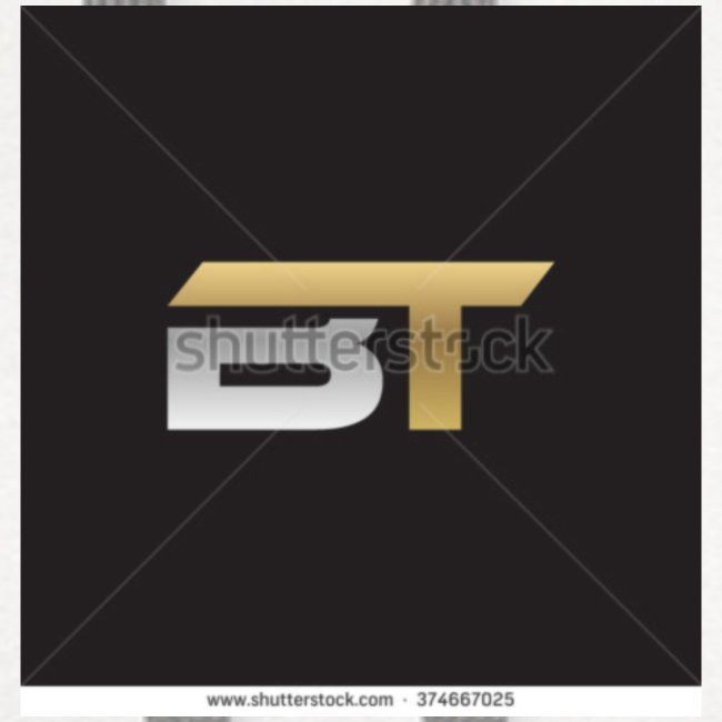 BT logo golden